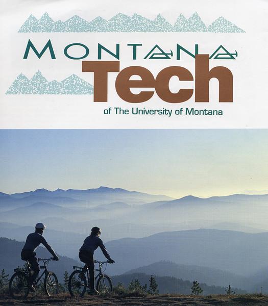 Montana Tech brochure cover