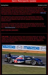 Sarni Motorsports Oct 6 pg1