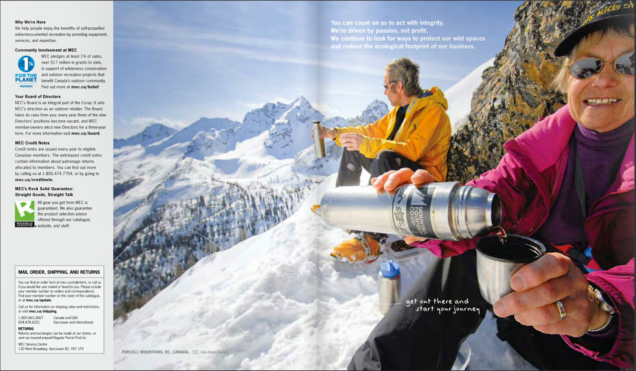 MEC Catalogue, Winter 2013