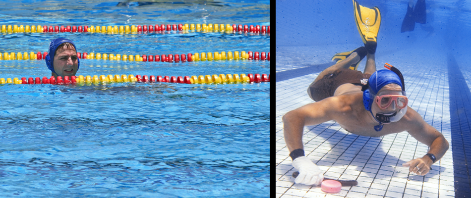 Hana Hou Magazine- underwater hockey feauture