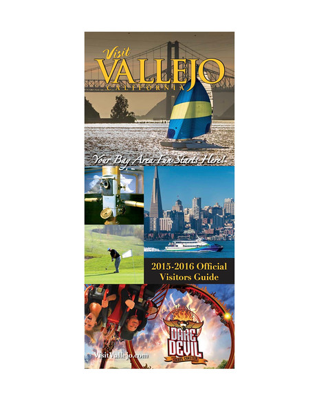2015-2016 Visit Vallejo Visitor Guide