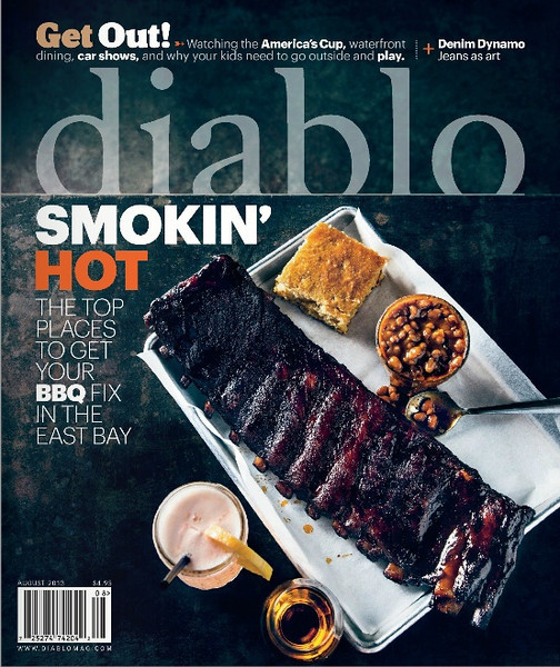 """Diablo Magazine August 2013 edition...my photo is featured on pages 10 & 11 in the """"glimpse"""" section."""
