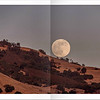 "Diablo Magazine August 2013<br /> Supermoon rising over Mount Diablo State Park near ""Rock City"" in Walnut Creek, CA."
