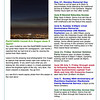 "Mare Island Preserve Newsletter 5/13/13<br /> PanSTARRS Comet-Eric Dugan does it again!<br /> ""Leave it to the amazing local photographer Eric Dugan to capture that darned comet right over Vallejo in a stunning photo."""