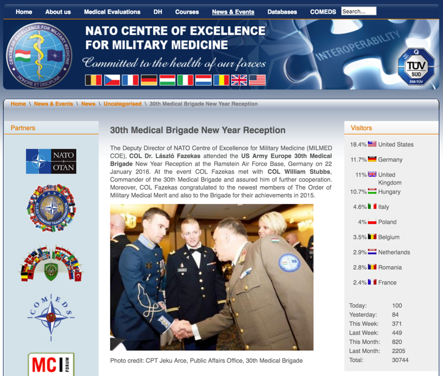 NATO Centre of Excellence for Military Medicine