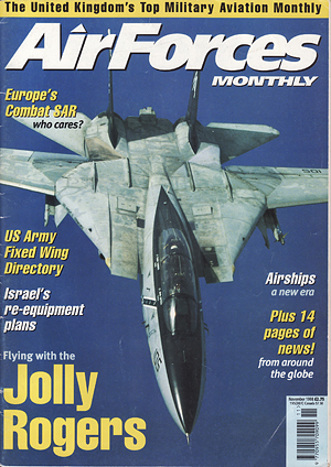 Air Forces Monthly<br /> November 2003<br /> Show Report: Paya Lebar - Singapore<br /> Pages 56-57