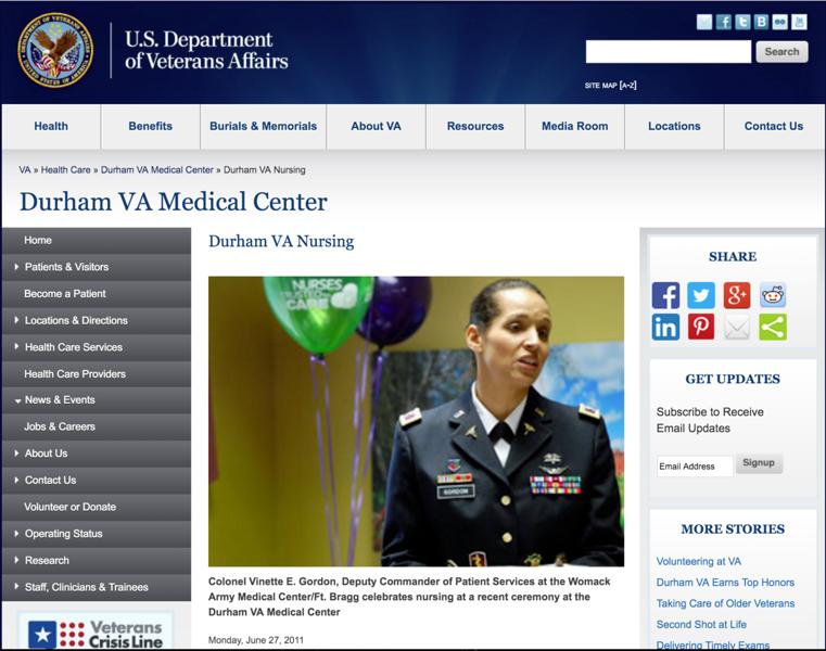 Veterans Affairs - Durham