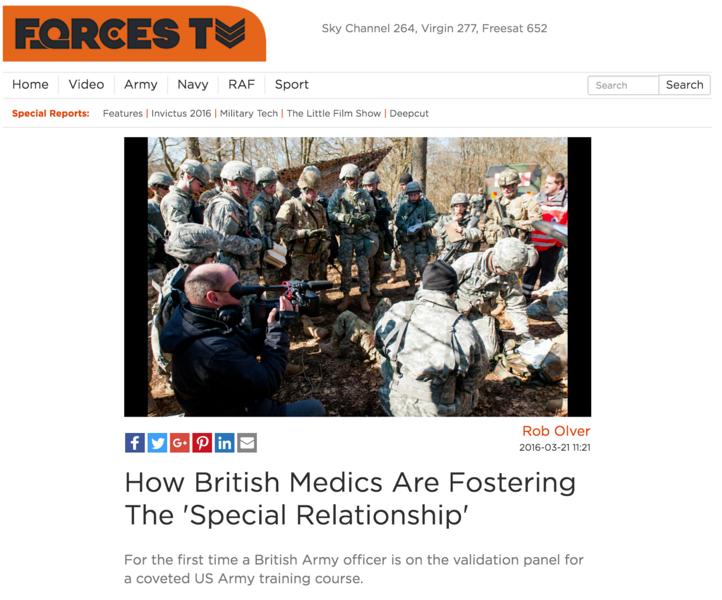 U.K. Forces TV