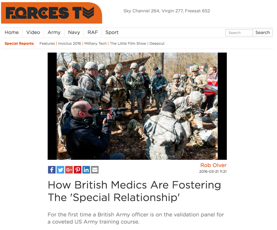 U.K. Forces TV
