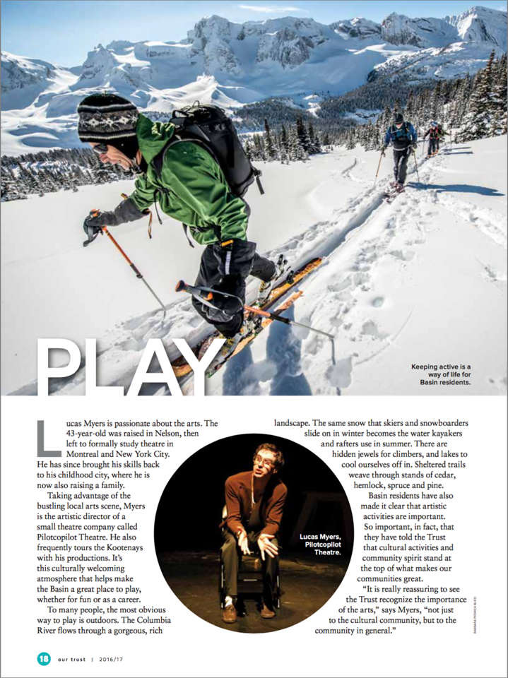 Columbia Basin Trust Magazine