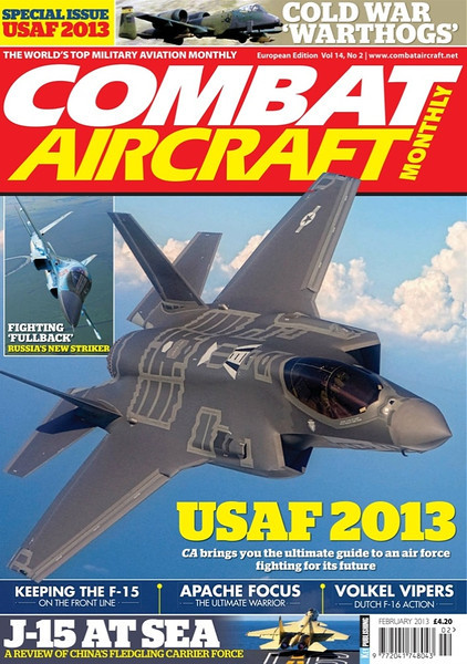 Combat Aircraft<br /> February 2013<br /> News: Singaporean Skyhawks retired in France<br /> Page 25