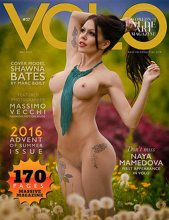 Volo Magazine   | Issue 37  COVER    | May 2016  | Shawna Bates