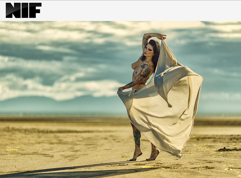 Model: Rianne Keel Published in NIF Magazine