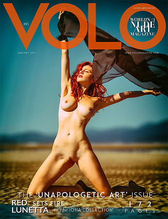 Volo Magazine   | Issue 45  COVER  feature  | Jan 2017  | La Lunetta