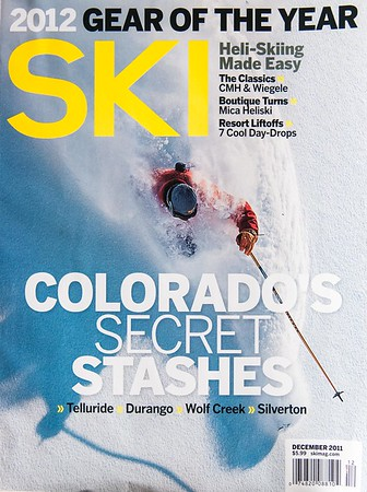 NOT COVER PHOTO - Two content photos from Mica Heli-Skiing