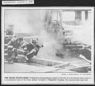 The Bergen Record,  Ridgefield NJ,  August 3rd 1988