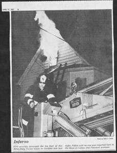 The Bergen Record,  Garfield NJ,  April 27th 1987