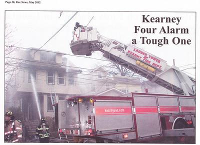 Fire News NJ  May 2012