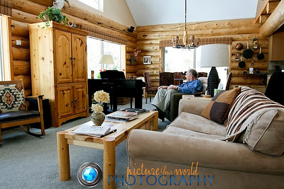 The founder of Wm Ohs Inc. kicks back in a log cabin whose horizontal lines he accented. (Sheba R. Wheeler, The Denver Post) Read more: A builder's hand relaxes - The Denver Post http://www.denverpost.com/room/ci_9110549#ixzz1GVGBfYvp