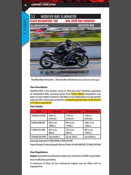 Australian National Drag Racing Association RuleBook 2019/2020