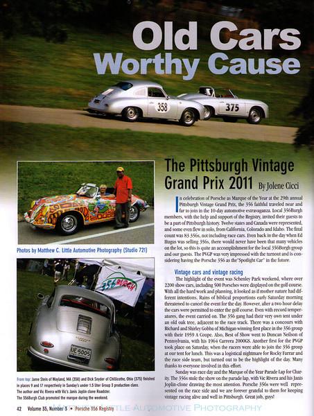 2011 Porsche 356 Registry