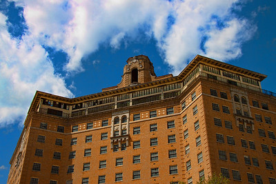 Old Baker Hotel, Mineral Wells, Texas (shot in 2010)