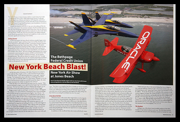 World Airshow News Jones Beach 2010 Airshow Article