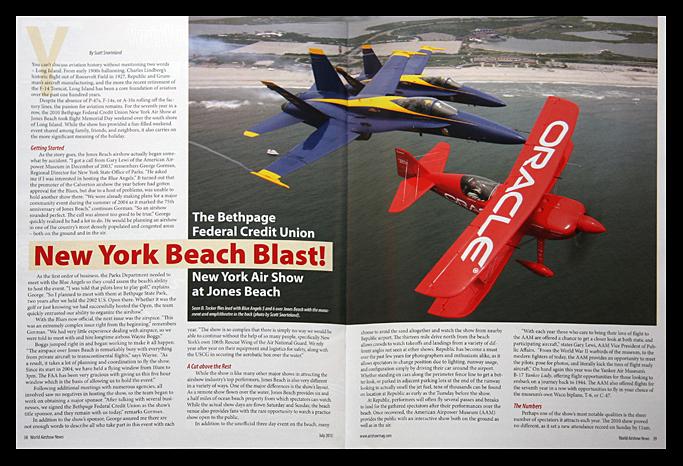 World Airshow News Jones Beach 2010 Airshow Article