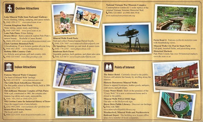Mineral Wells, Texas - Chamber of Commerce Brochure (inside) 2011