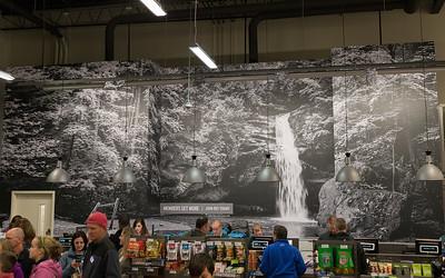 Lower Falls at Hocking Hills REI Columbus -Dublin Ohio, Store Mural