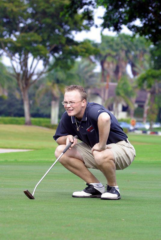 FAU Golf Men 2003-Jan-18- 156