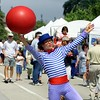 Clown with Big Red Ball 3N885203