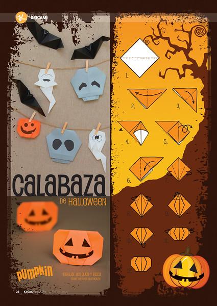 Calabaza de Halloween, (Kyodai Magazine 175-oct 2013)
