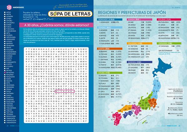 REGIONES Y PREFECTURA DE JAPON