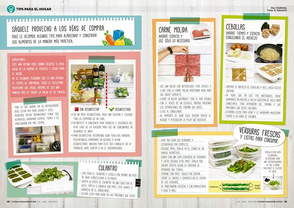Tips para el hogar (Kyodai Magazine 209, JUL-AGO-SEP 2020)