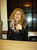 Liz enjoys a half after the Brewery tour