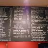 Extensive Bottled beer menu