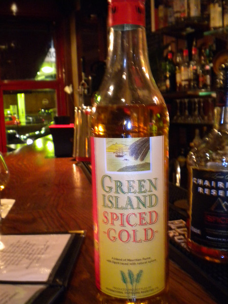 Green Island Spiced Gold Rum <br /> <br /> From Mauritius