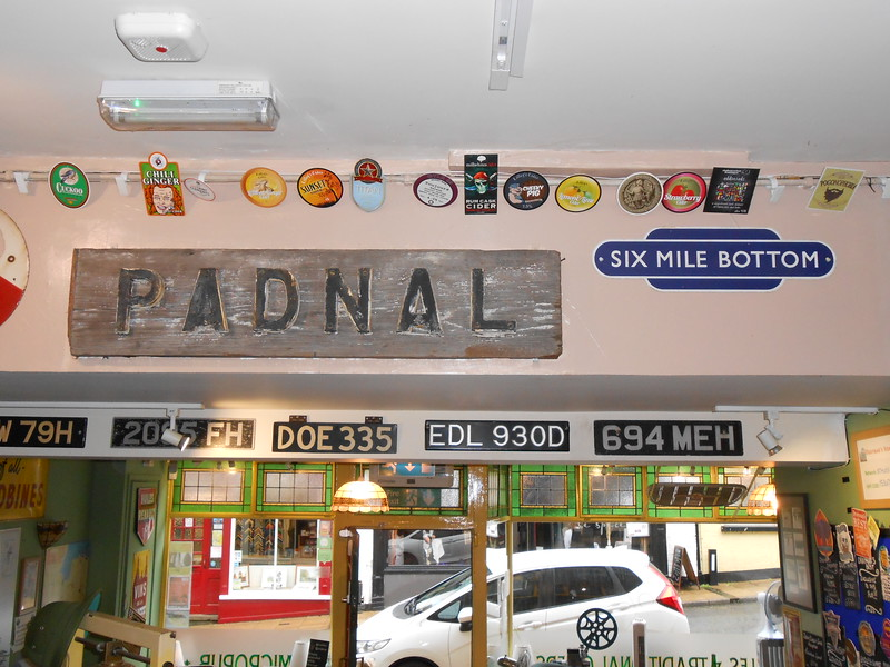 """Loads of car number plates and so i have found out Padnal was a <br /> <br /> signal box between Ely and Shippea Hill Station pic below <br /> <br /> <br /> <a href=""""https://www.signalbox.org/branches/dg/padnal.htm"""">https://www.signalbox.org/branches/dg/padnal.htm</a><br /> <br /> And Six Mile Bottom is a dissued railway station details below <br /> <br /> <a href=""""https://en.wikipedia.org/wiki/Six_Mile_Bottom_railway_station"""">https://en.wikipedia.org/wiki/Six_Mile_Bottom_railway_station</a>"""