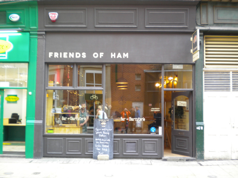 """Friends of Ham <br /> <br /> Since our last visit to Leeds in 2012 this place has opened on the station entrance road and so we thought we'd pop in for a quick look <br /> <br /> for more info check out there site at <br /> <br /> <br />  <a href=""""http://www.friendsofham.com/"""">http://www.friendsofham.com/</a><br /> <br /> when we went in they had a good selection of Wild Beer Comp beers on <br /> <br /> 11th June 2013"""