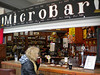 "Micro Bar <br /> <br /> Manchester Arndale Market <br /> Facebook page <br /> <br />  <a href=""https://www.facebook.com/pages/Micro-bar-manchester-arndale/156630464386977"">https://www.facebook.com/pages/Micro-bar-manchester-arndale/156630464386977</a><br /> I've been here a few times and always a good selection of beer on and bottles to buy we stopped off on our way to Afflecks in the Northern quarter"