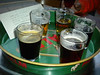North Bar <br /> <br /> Leeds <br /> <br /> 1/3 mesures of the various beers <br /> <br /> Monday 10th June 2013