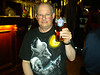 Pic by Liz <br /> <br /> Ghost Station Man Samples the Camden Pale Ale
