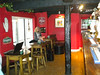 Picture looking from the door back along the bar
