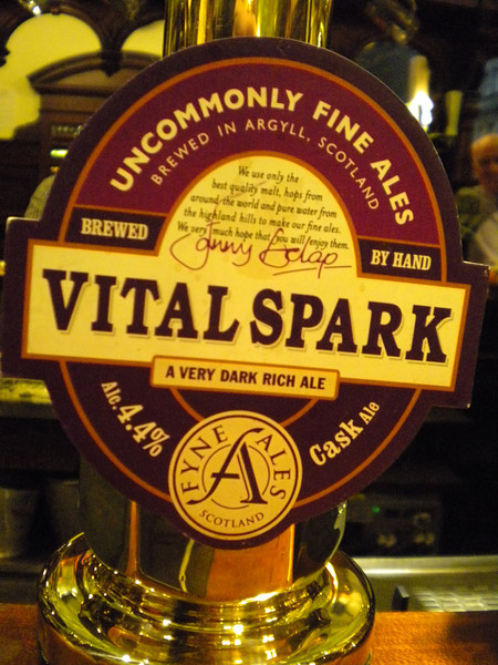 "Vital Spark <br /> <br /> Website for Brewery here <br /> <br />  <a href=""http://www.fyneales.com/shop/beers/vital-spark"">http://www.fyneales.com/shop/beers/vital-spark</a>"
