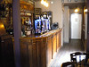 The rather nice wooden bar