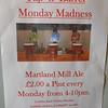 Monday happy hour poster