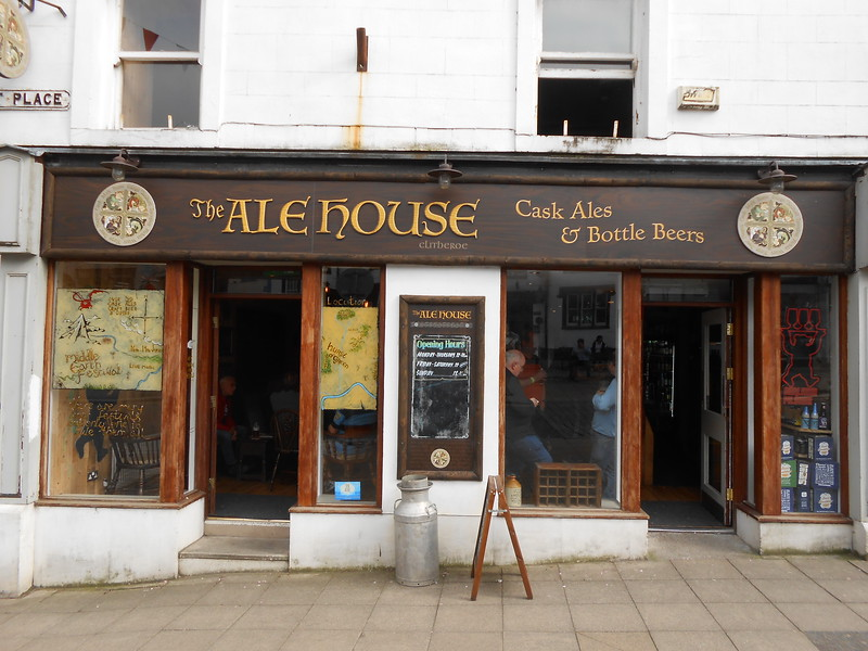 Outside of the Ale House Cask Ales and Bottles in Clitheroe well worth <br /> <br /> a visit if you around that way
