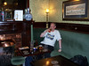 Pic by Liz <br /> <br /> Ghost Station Man <br /> <br /> Enjoys a nice pint in the Lion Tavern