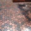 This is cool the top of the bar is made up 1p's under glass